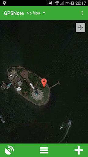 تطبيق GPS Notes لتسجيل ملاحظات بحسب مكانك