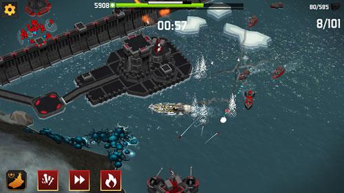 لعبة Fortress: Destroyer حرب الزوارق