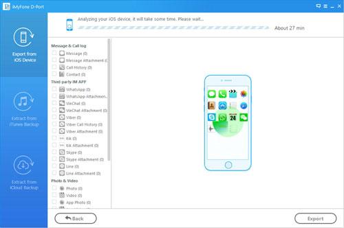 برنامج iMyFone D-Port لاستخراج الملفات من النسخة الاحتياطية - مفاتيح تفعيل وتخفيضات