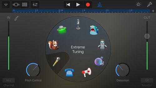 تطبيق GarageBand لتحرير الصوتياتتطبيق GarageBand لتحرير الصوتيات