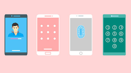 صورة شرح فتح هواتف LG في حال نسيت رمز الدخول أو كلمة السر !