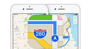 تطبيق خرائط آبل أصبح يعرض الأحوال المرورية في السعودية و الإمارات - تحديث مهم !