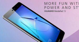 الإعلان عن الجهاز اللوحي الجديد Huawei MediaPad T3 بسعر منخفض !