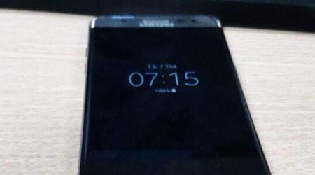 بالصور ، هذا هو هاتف جالكسي نوت 7 ببطارية جديدة !