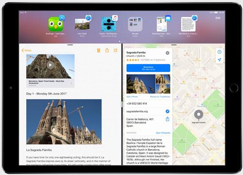 فيديو وصور: ما هي المزايا التي سيضيفها iOS 11 لأجهزة الآيباد ؟