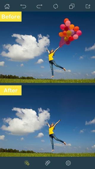 تطبيق Photo Retouch لحذف العناصر من الصور باحترافية