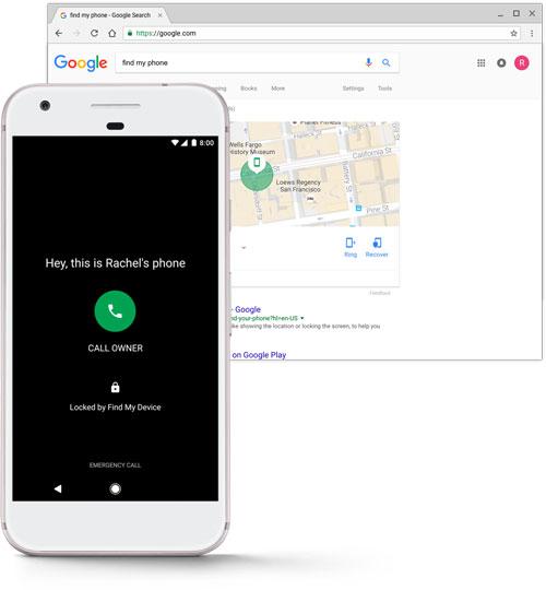 تطبيق Find My Device لإيجاد الأجهزة الضائعة