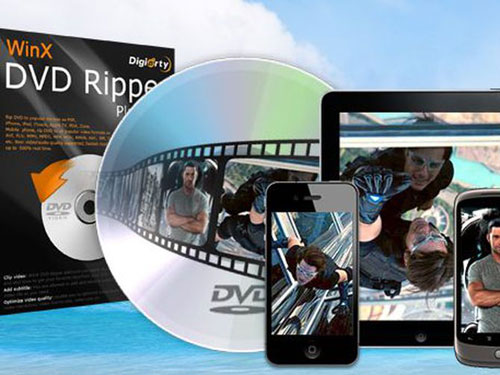 عرض - حمل WinX DVD Ripper مجانا لتحويل الفيديو ونقله إلى الأيفون والأندرويد