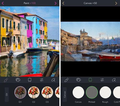تطبيق Brushstroke لتحويل صورك لرسومات زيتية