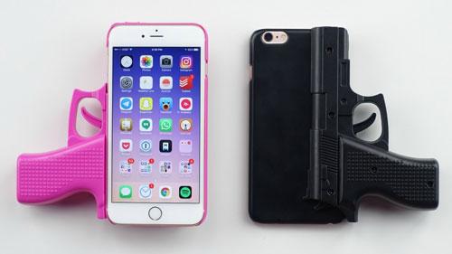 غطاء أيفون على شكل مسدس