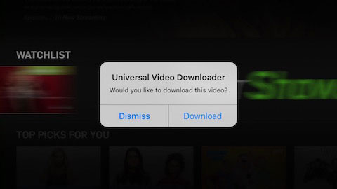 أداة Universal Video Downloader Plus لتنزيل وحفظ الفيديو