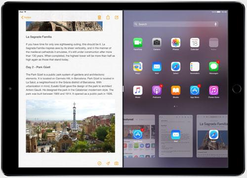 دعم أفضل لميزة تقسيم الشاشة في iOS 11