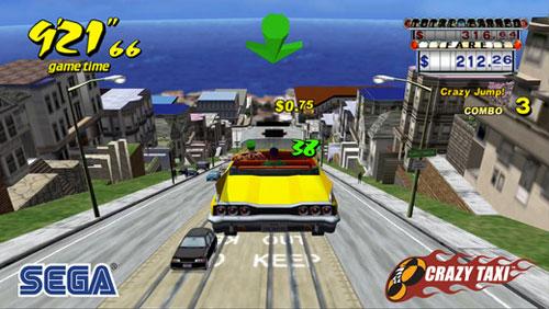 لعبة Crazy Taxi لبعض المتعة والتسلية المضحكة - مجانا لوقت محدود