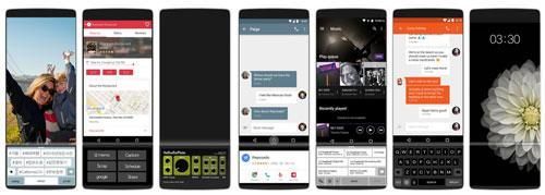 هل هذا هو هاتف LG V30 مع شاشة ثنائية قابلة للسحب !