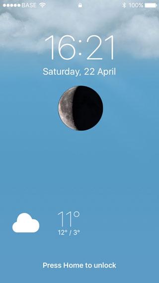 أداة WeatherLock لإضافة حالة الطقس للشاشة الرئيسية