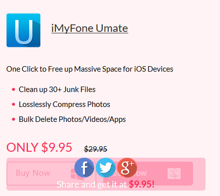عرض خاص على برنامج iMyFone Umate
