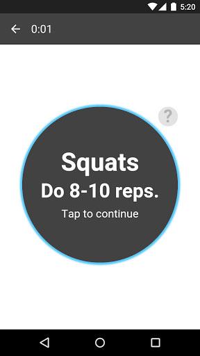 تطبيق 15 Minute Workout دليلك للنشاطات الرياضية