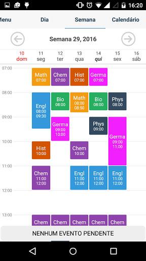 تطبيق Student Agenda Pro لتنظيم جدول الدراسة