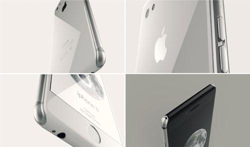 صور تخيلية: الأيفون 8 سيحمل خلفية من الزجاج !
