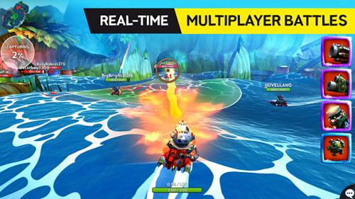 لعبة Battle Bay لمحبي ألعاب التحدي الجماعية