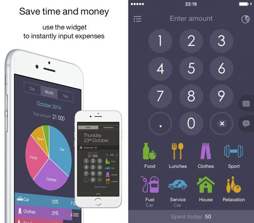 تطبيق Expenses OK لمعرفة مصاريفك كاملة
