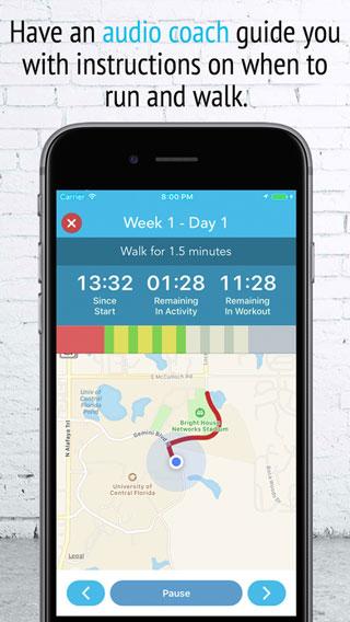 تطبيق 5K Trainer مساعدك للجري أطول مسافة