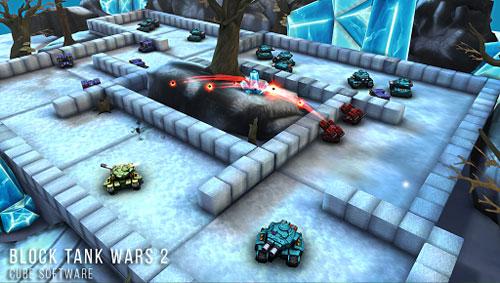 لعبة Block Tank Wars 2 Premium لمحبي حروب المركبات