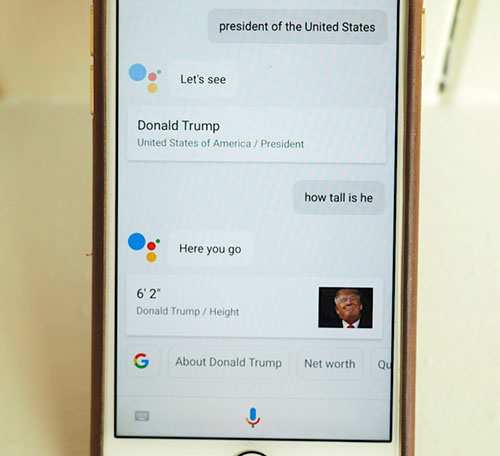 Google Assistant الآن على الآيفون