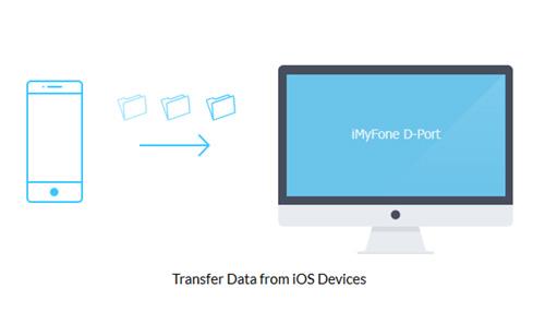 برنامج iMyFone D-Port - لنقل الملفات إلى الحاسوب