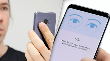 Photo of فيديو: اختراق ميزة التعرف على العين في Galaxy S8 – وسامسونج ترد !