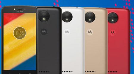 Photo of موتورلا تعلن رسمياً عن هاتفي Moto C و Moto C Plus بأسعار زهيدة!