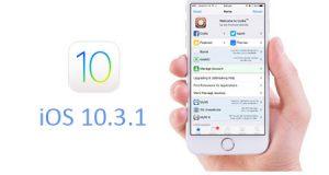 شرح الرجوع أو التحديث إلى الإصدار iOS 10.3.1 على الأيفون والأيباد