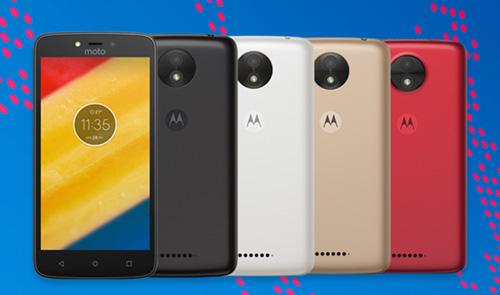 موتورلا تعلن رسمياً عن هاتفي Moto C و Moto C Plus بأسعار زهيدة!