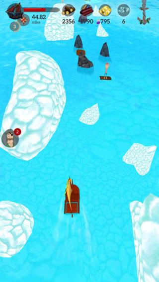 لعبة The Sea Wolf Stories - مغامرات ممتعة في المحيطات وجمع الكنوز !