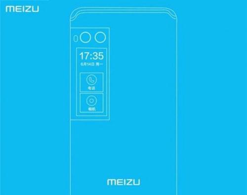تسريب تفاصيل هاتف Meizu Pro 7 مع الشاشة الخلفية الصغيرة