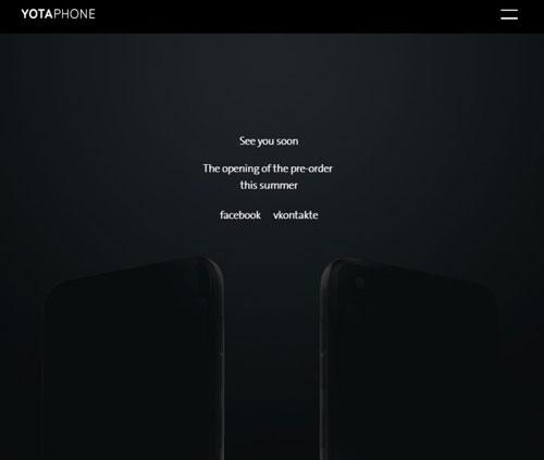 هاتف YotaPhone 3 سيتوفر بسعر 350$ خلال هذا الصيف
