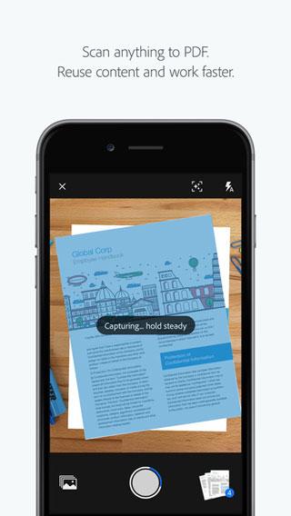 تطبيق Adobe Scan الجديد لمسح المستندات وتحويلها إلى PDF