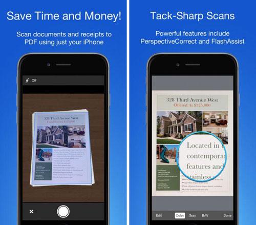 تطبيق Smart PDF Scanner لتصوير المستندات باحترافية