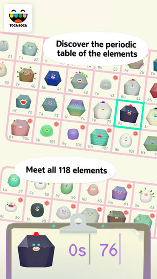 لعبة Toca Lab: Elements - ترفيهية تعليمية