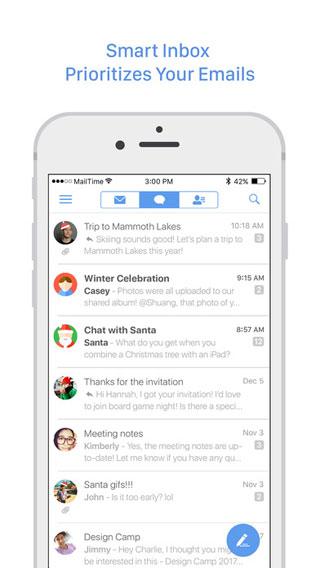 تطبيق MailTime Pro للمراسلة والبريد بطريقة احترافية