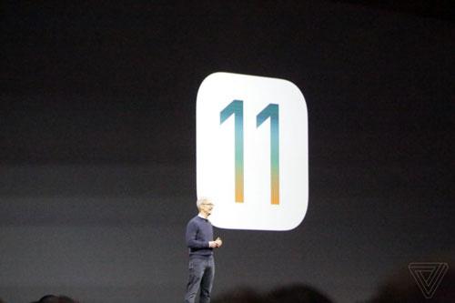 الإعلان رسميا عن نظام iOS 11
