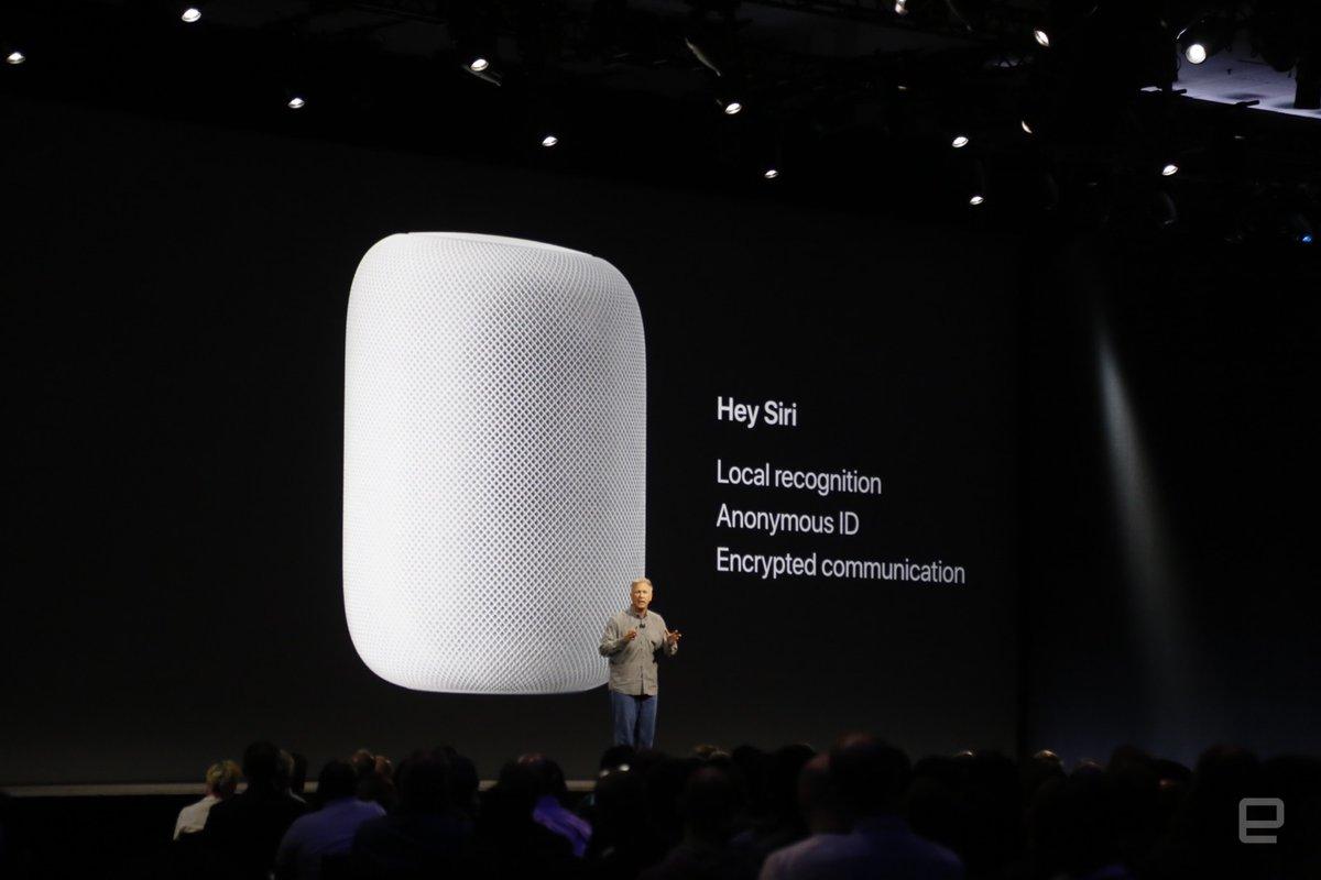 الإعلان عن جهاز HomePod - مكبر صوت لاسلكي مع خدمة Siri