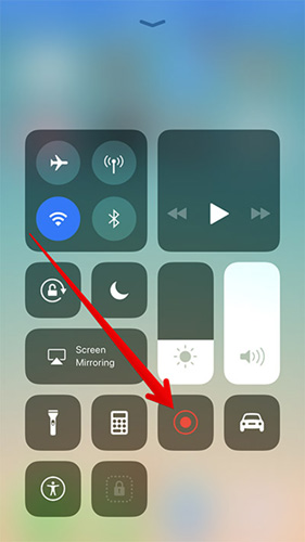 شرح كيفية تصوير الشاشة بالفيديو في نظام iOS 11 بدون جيلبريك أو تطبيقات إضافية !