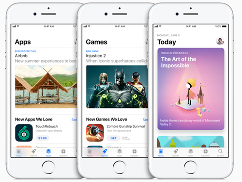 نظام iOS 11 - ما الجديد في متجر التطبيقات App Store ؟