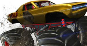 لعبة ادهس يا وحش - عرض السيارات الوحش للتحدي الكبير