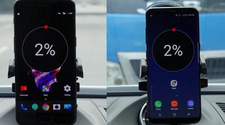 اختبار سرعة الشحن - OnePlus 5 يتفوق على جالاكسي S8