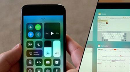 صورة نظام iOS 11 – ما الجديد في مركز التحكم ؟