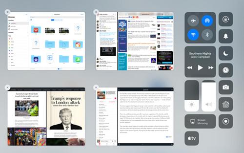 نظام iOS 11 - ما الجديد في مركز التحكم ؟