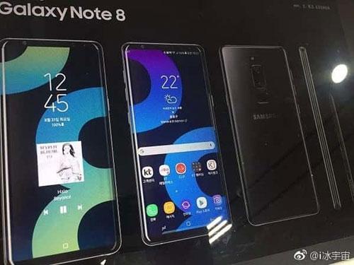 فيديو وصور: من جديد - هل هذا هو هاتف جالكسي نوت 8 ؟