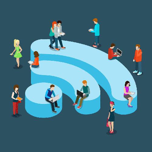 كيف تحمي نفسك أثناء استخدام شبكة واي فاي عامة ؟